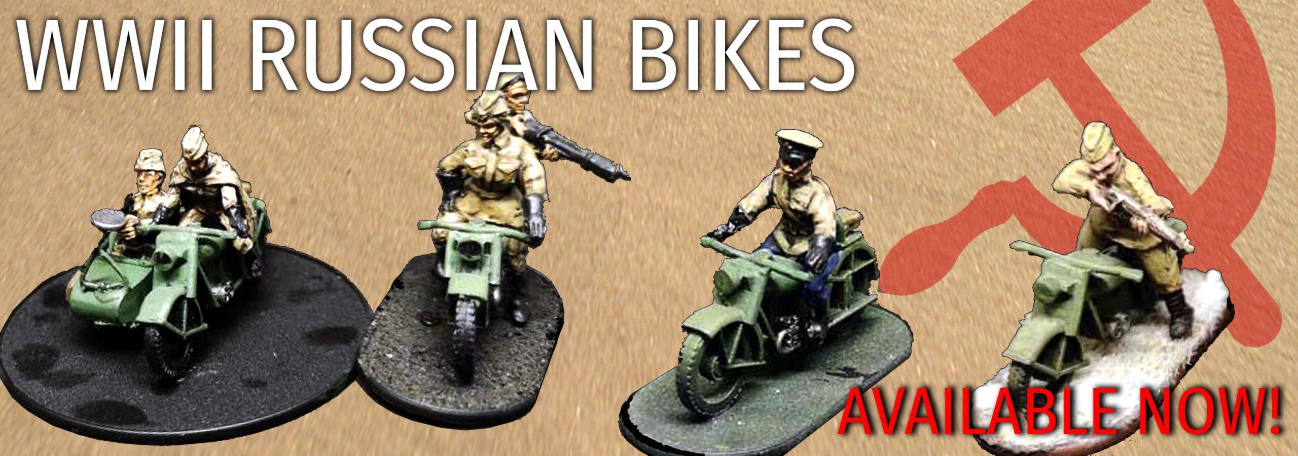 WWII Russian Bikes